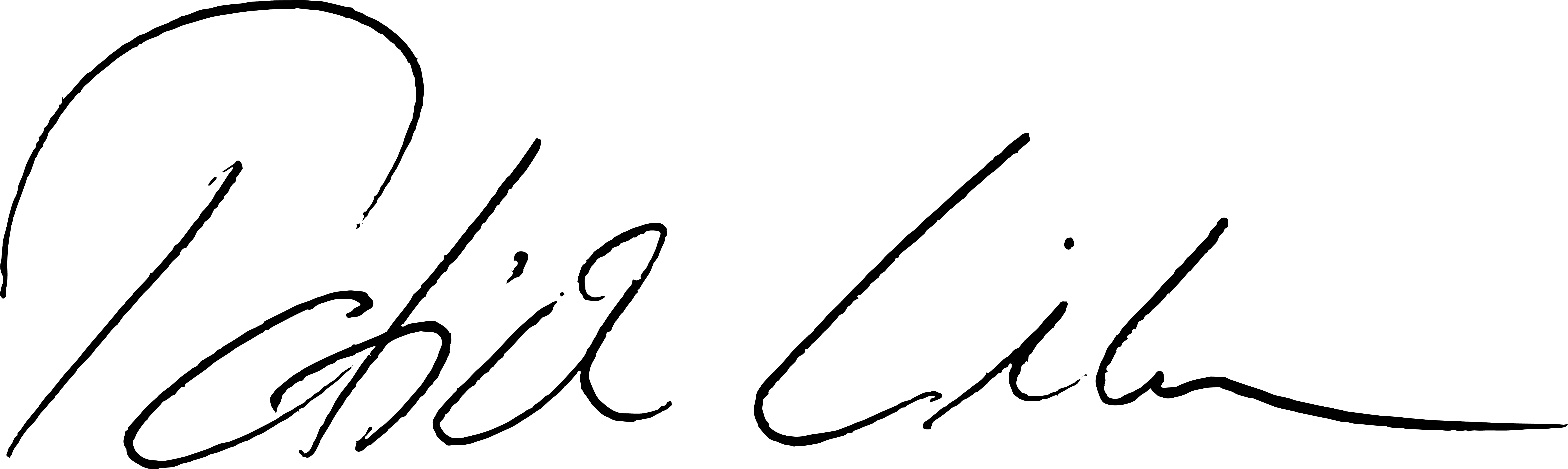Linke Unterschrift
